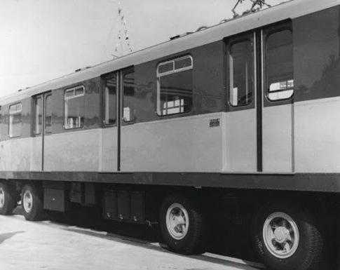 Treno Metropolitana su Gomma