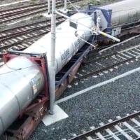 Svio Carro Porta Containers alla Stazione di Ventimiglia