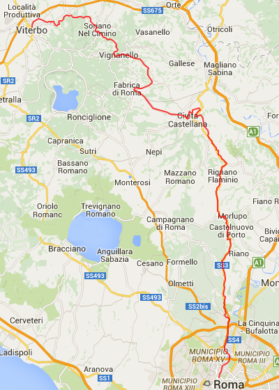 Cartina Stazioni Ferroviarie Roma.Linee Ferroviarie In Esercizio Nel Lazio Treniebinari It